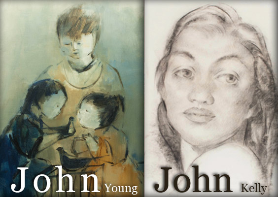 John / John Exhibition (John Young & John Kelly)