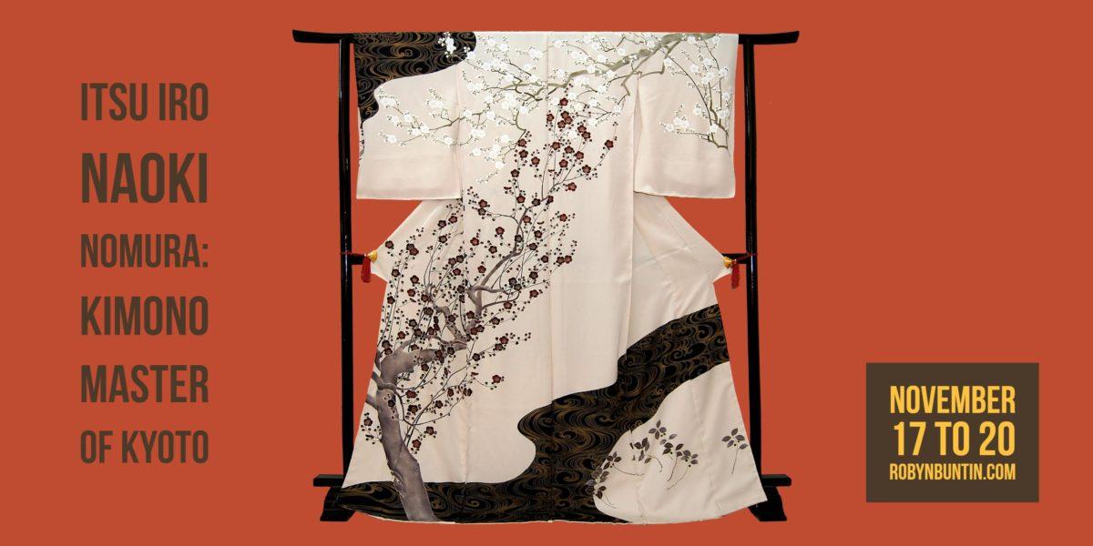 Naoki Nomura: Kimono Master of Kyoto presents Itsu Iro