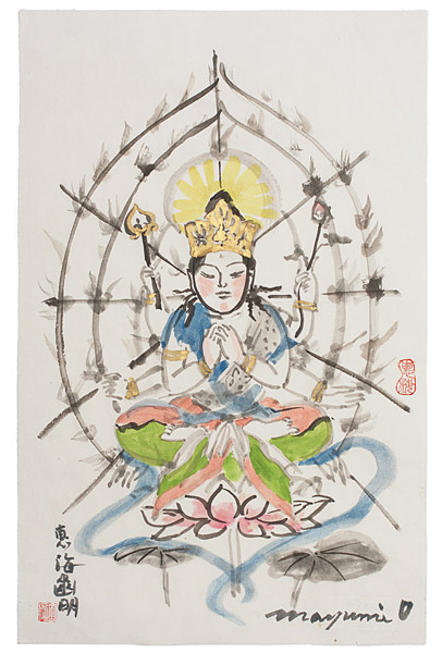 Exhibition of Compassion, Images of Kwan Yin by Mayumi Oda