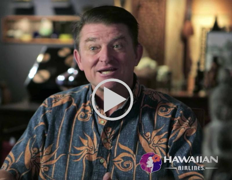 Tusha Buntin - Hawaiian Airlines In-Flight Video